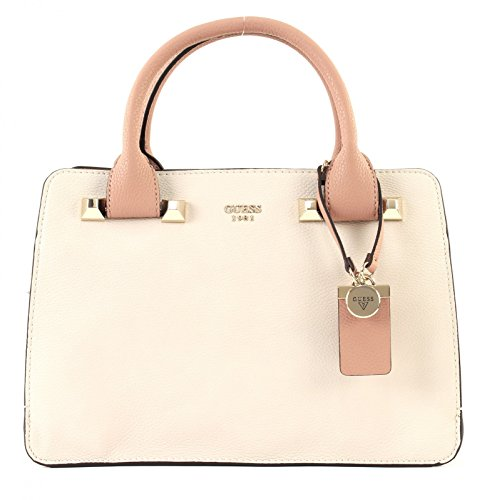GUESS Talan Girlfriend Satchel Blush Multi (Satchel Handtasche Multi-tasche)
