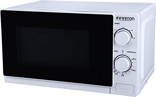 Infiniton MW-0115 Comptoir 20L 700W Blanc - Micro-ondes (Comptoir, 20 L, 700 W, boutons, Rotatif, Blanc, Bouton)