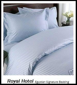 Down-alternative Tröster-sets (Royal Hotel 's King Size Gestreift 600-thread-count 3duvet-cover-sets und 1sibirischen Gänsedaunen Alternative Tröster 100Prozent egyptian-cotton, baumwolle, blau, King Size)
