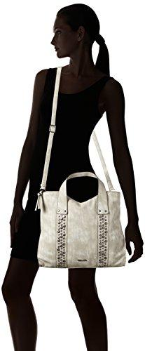 Tamaris Damen Ursula Shopping Bag Schultertasche, 11x30x36 cm Beige (Sand)
