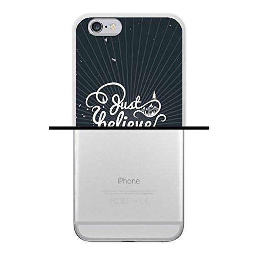 iPhone 6 6S Hülle, WoowCase Handyhülle Silikon für [ iPhone 6 6S ] Carpe Diem Handytasche Handy Cover Case Schutzhülle Flexible TPU - Transparent Housse Gel iPhone 6 6S Transparent D0277