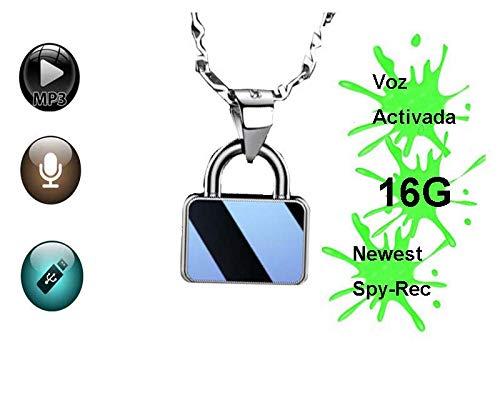 Neueste Mini Diktiergerät Mit Sprachaktivierung - Spionage Recorder 24 Stunden Akkulaufzeit bei voller Aufladung- Playback,USB,MP3,16G BIS ZU 200 STUNDEN KAPAZITÄT ...