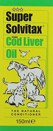 Super Solvitax Pure Cod Liver Oil, 150ml 1