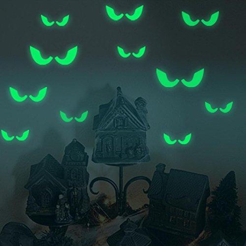 Halloween Haus (Upxiang Neuer abnehmbarer leuchtender Wand-Aufkleber, glücklicher Halloween-Abziehbild, Haus-Haus-Raum-Wand-Aufkleber-Wanddekor)