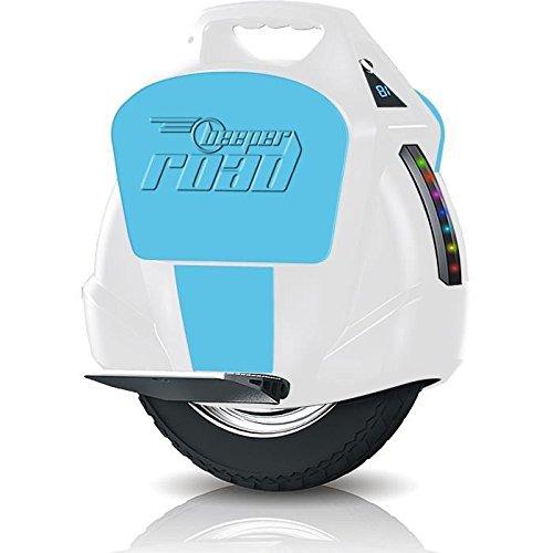 #BEEPER Erwachsene Elektro-einrad R1-BB, weiß blau, One Size, R1-BB#