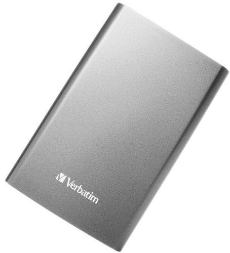 Verbatim Store 'n' Go 1TB externe Festplatte (6,4 cm (2,5 Zoll), 5400rpm, 8MB Cache, USB 3.0) graphite grau