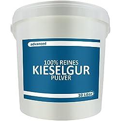 advanced - Reine Kieselgur 10 L Eimer Ohne Chemische Reinigung