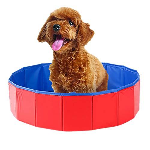 Roblue Hundepool Hunde Schwimmenbade Große Hunde Katze Haustier Badewanne 80cmx20cm (1)