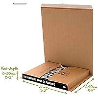 Buch CD DVD Kartusche Umwickeln C1 C2 C3 C4 C5 Post Schachteln Selbstklebender Streifen Einfach Reißstreifen Mail Bereit Karton Umwickeln - C3 (311x240mm)