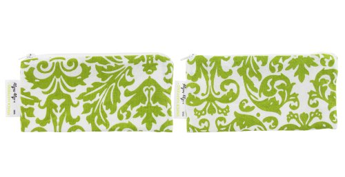 itzy-ritzy-snack-happens-damask-avocado-mini-reusable-snack-and-everything-bag-pack-of-2