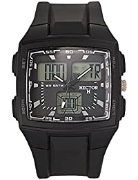 f71c6415a0a9 Hector Reloj analógico digital modelo 665410 – Reloj de pulsera hombre
