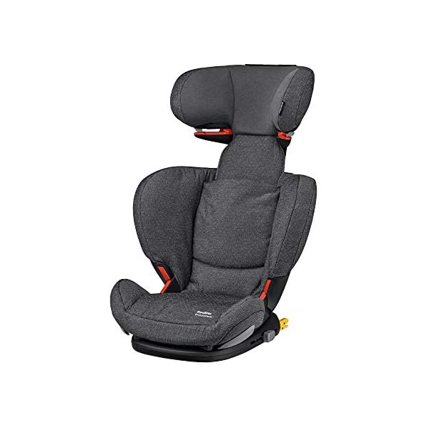 Maxi Cosi RodiFix AirProtect Child Car Seat, ISOFIX Booster Seat, Extra Protection, 3.5-12 Years, 15-36 kg, Sparkling Grey Maxi-Cosi Booster car seat for children from 15 to 36 kg (3,5 to 12 years) Grows along with your child thanks to the easy headrest and backrest adjustment from the top Patented AirProtect technology for extra protection of child's head 1