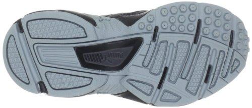 Puma  Xenon Trainer V Jr, Chaussures de running enfant mixte Noir - Schwarz (black-bright violet-metallic silver 09)