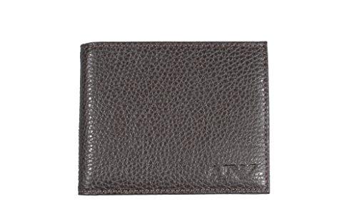 Portafoglio uomo ARMANI JEANS vera pelle men s wallet Genuine Leather (Moro  portacarte) d2969d0ecc4
