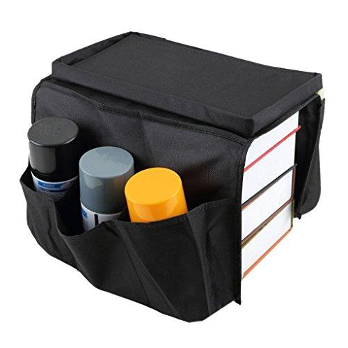 Kaifang, contenitore universale a 6 scomparti per divano, braccioli, utilizzabile come porta riviste, porta dvd, porta libri, porta telecomando, e portaoggetti