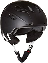 ALPINA Skihelm Snow Mythos - Casco de esquí, color negro, talla 52-56