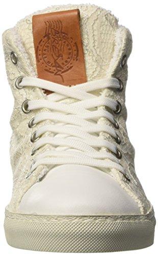 Bressan Pizzo, Baskets Hautes Femme Bianco