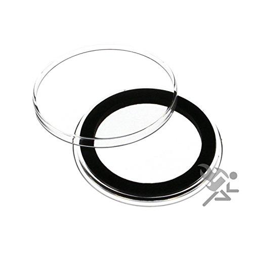 (25) Air-Tite 37mm Schwarzer Ring Münzkapseln für 1 Unze Gold und Silber Philharmoniker