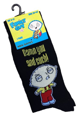 family-guy-stewie-mens-pair-of-socks-damn-you-and-such-size-6-11