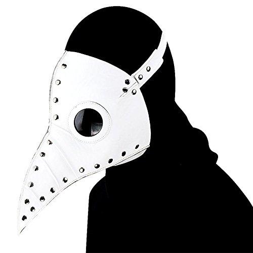 Pest Maske Cosplay Kostüm Erwachsene Lange Schnabel Masken für Halloween Prop Steam Punk ()