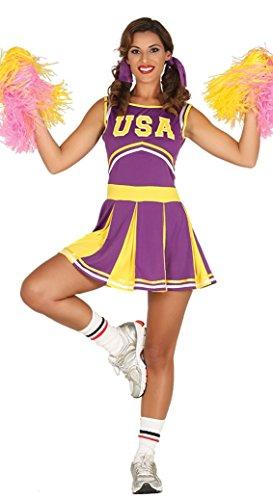 Fiestas Guirca Kostüm Cheerleader Fan ()