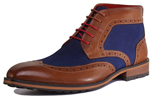 Justin Reece Lee, Scarpe stringate uomo Brown