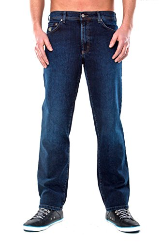 Revils Jeans Hose 342 Stretch, V-2493/8, blue black Blue