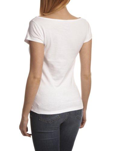 Nike T-shirt à manches courtes pour femme Motif Paris Blanc - blanc