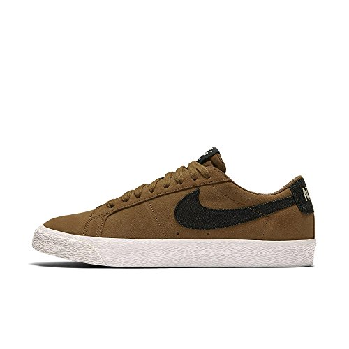 864347 201|Nike SB Blazer Low Golden Beige|40 (Blazer Schuhe Nike Frauen)