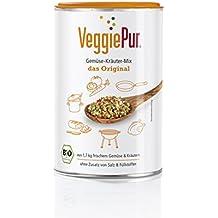 Veggie Pur 03602 Bio Gemüse-Kräuter-Mix Original, 1er-Set ( 1 x 130 g)