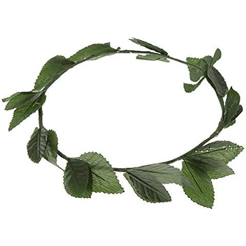 Venda de Hoja Verde Romano Diosa Griega Corona de Laurel de Disfraces Traje