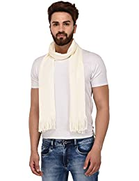 FabSeasons Unisex Acrylic Woolen Muffler, Scarf, Shawl and Stole for Winters for Men, Size - 24*190 cms