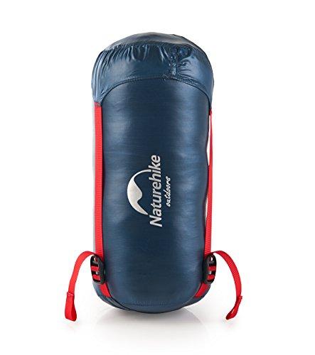 Naturehike White Ultralight Goose Down Rectangular Sleeping Bags Winter Sleeping Bags 2 ℃ Limit (Dunkelblau) -