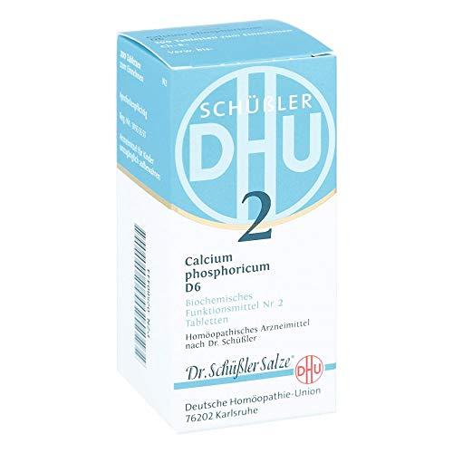 DHU Schüßler-Salz Nr. 2 Calcium phosphoricum D6, 200 St. Tabletten