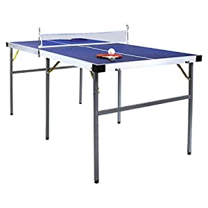 klappbarer tischtennis tisch ping pong platte gr n 153 cm sport freizeit. Black Bedroom Furniture Sets. Home Design Ideas
