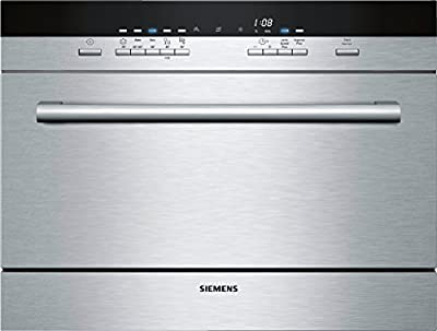 Siemens SK75M521EU lavavajilla - Lavavajillas (Independiente, Acero inoxidable, Botones, A, 70 °C, 24h)