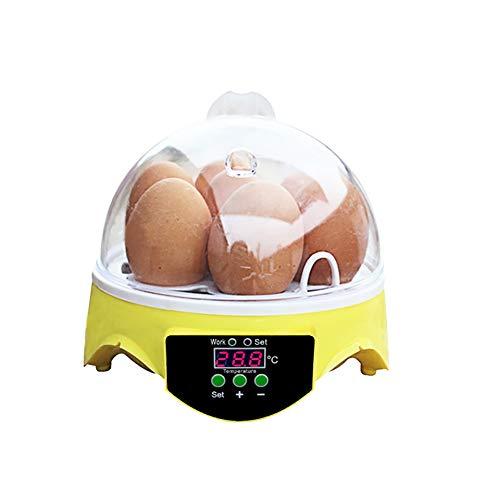 Zgrbq incubatrice 7 uova automatica pulcini usato per polli, anatre, oche, uccelli, grilli, ecc.