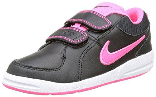 Nike Pico 4 (PSV), Zapatillas de Tenis para Niñas, Negro / Rosa (Black / Hyper Pink), 29 1/2 EU