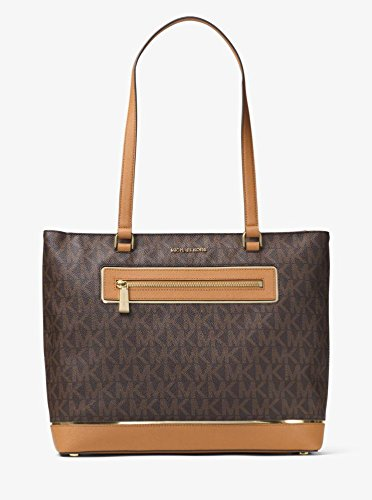 MICHAEL KORS SAC FRAME OUT ITEM BROWN 40X30X10cm