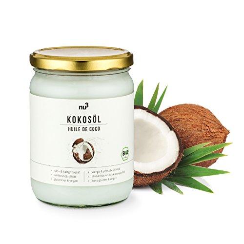 nu3 Premium Bio Kokosöl nativ und kaltgepresst