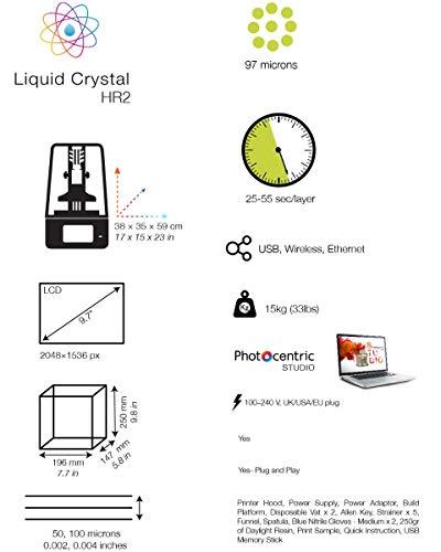 PhotoCentriC3D – Liquid Crystal HR2 - 2