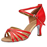 Damen High Heel Sandalen,Bovake Pfennigabsatz Pumps Slingback Slipper Mary Jane Halbschuhe Party Schuhe
