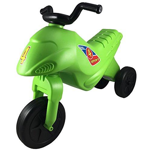 Kinder Motorrad Rutscher Kinderbike Lauflernrad Laufrad - verschiedene Farben (grün)