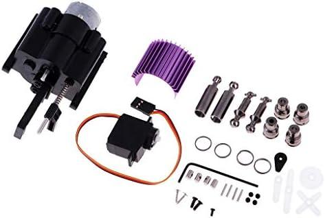 Fenteer Kit de Accessoires Mise à Niveau pour WPL 1/16 B1 B-1 B-14 B16 B24 C14 Auto Crawle   Faible Coût