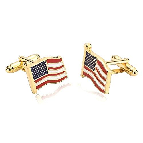 Adisaer Gemelli Uomo Elegante USA American Flag
