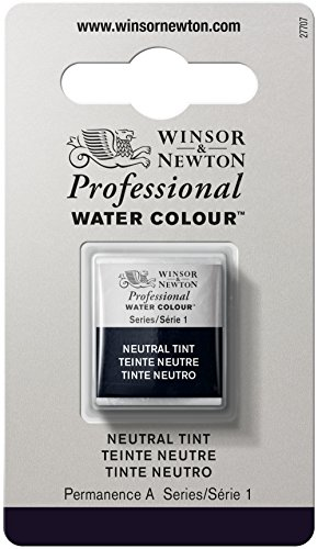 Winsor Newton & Professional mezza, colore: acqua, Neutral Tint, N/A