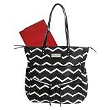 Baby Essentials Striped Diaper Bag Tote ...