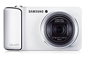Samsung Galaxy Kamera (16 Megapixel, 21-fach opt. Zoom, 12,2 cm (4,8 Zoll) Touchscreen, Cortex A9, Quad-Core, 1,4GHz, WiFi, 3G, Android 4.1) weiß