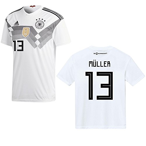 3e7450b97 DFB Germany Home Jersey WM 2018 – Müller 13 - Buy Online in Oman ...