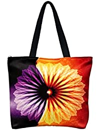 Vj's Ladies Hand Bag With Multi Color (12 Inch * 10 Inch) - B079HXLHL7